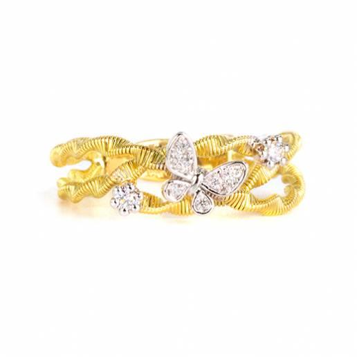 Anello Gold Spirals